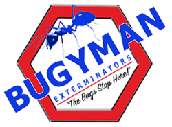Bugyman Exterminators Logo